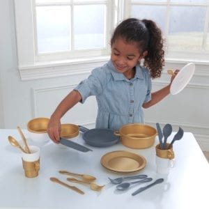 Kidkraft 27 Piece Cookware Set – Modern