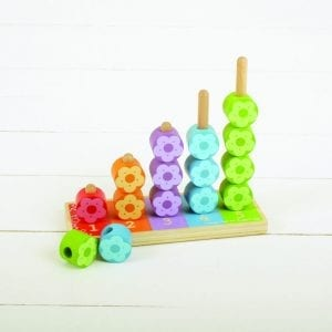 Flower Stacker Wooden Toy