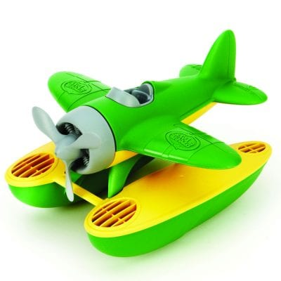 GreenToys Seaplane with Green Wings