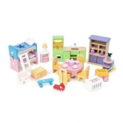 Starter Dollhouse Furniture Set