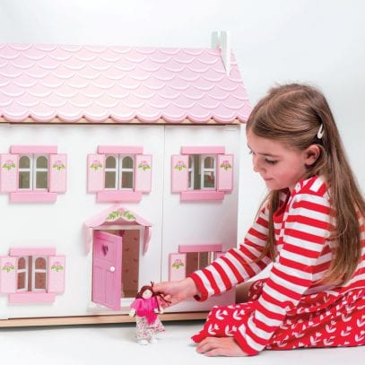 Sophie_Pink_White_Wooden_Dolls_House