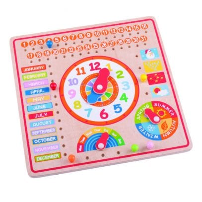 Wooden-calendar-and-clock-learning-toy