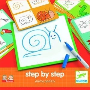 Djeco Step by step Drawing – Animals and Co