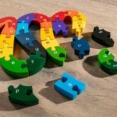 Alphabet-Wooden-Jigsaw-Snake-for-Toddlers