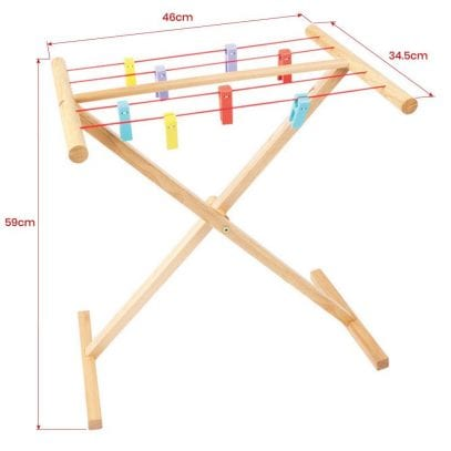 Bigjigs-Clothes-Airer-Pretend-Play
