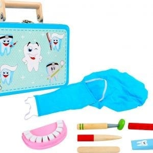 Dentist set in a suitcase