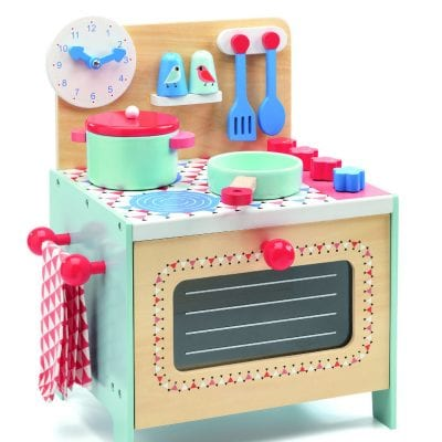 Djeco Role Play Blue Cooker
