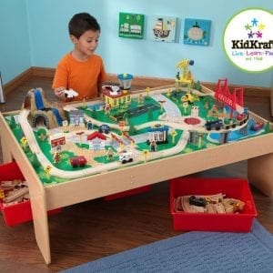 Kidkraft Waterfall Mountain Train table and Set