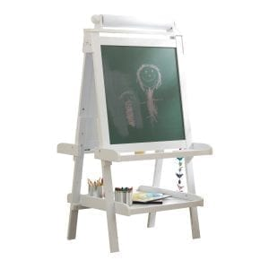 Deluxe Wooden Easel White