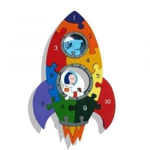 Number Rocket Jigsaw