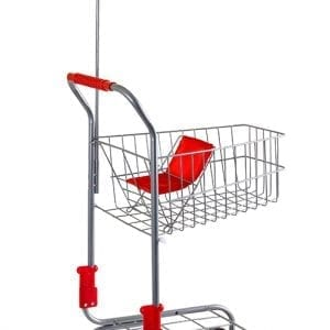 Silver Shopping Trolley