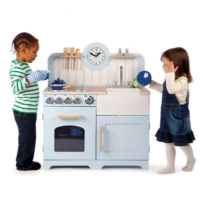 Wooden-Country-Play-Kitchen-Tidlo