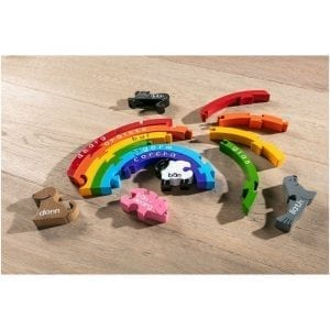 Rainbow Colours in Irish Jigsaw