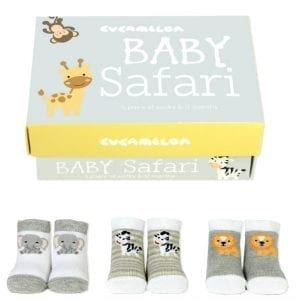 Baby Safari Socks – Gift Box