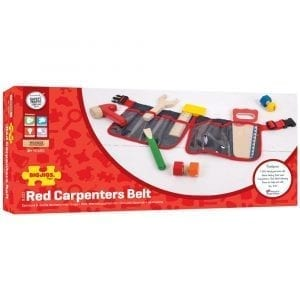 Carpenter's Belt Red