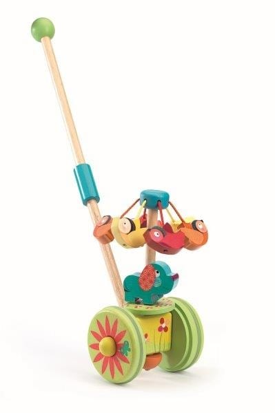 Rouli Cuicui push along toy