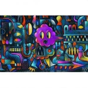 Monster Wall – Gallery Puzzle 500pcs