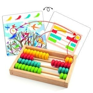 Abacus with Cards