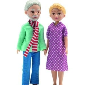Dollhouse Accessory Grandparents