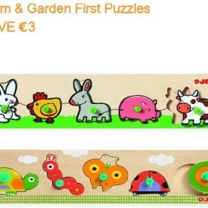 Djeco First Puzzles Value Pack
