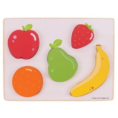 Lift and Look Puzzle Fruits