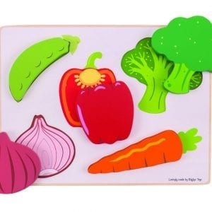 Lift and See Puzzle Vegetables