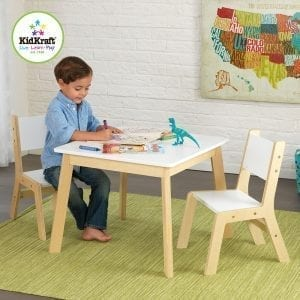 Kidkraft Modern Table and 2 Chairs set