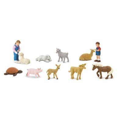 Safari Ltd Super TOOBS Petting Zoo