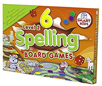 Spelling Board Games Level 2 (6 Pack)