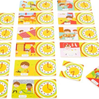 Telling Time Learning Puzzle