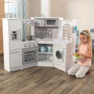 Ultimate Corner Play Kitchen White