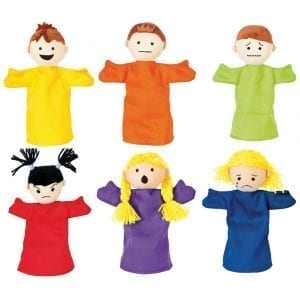 Emotion Puppets Set of 6