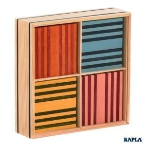 Kapla Construction 100 Planks Octocolour