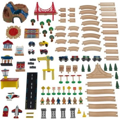 Kidkraft-Adventure-Town-Railway-set-and-Table-Accessories