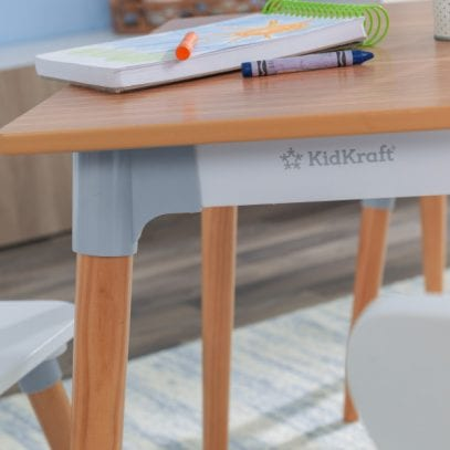 Kidkraft-Mid-Century-Table-and-Four-Chair-set-2