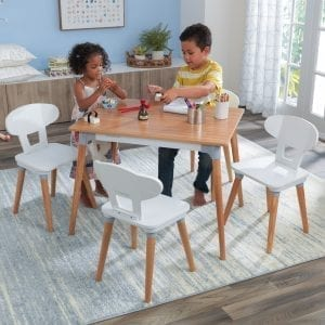 Kidkraft Mid-Century Kid™ Toddler Table & 4 Chair Set