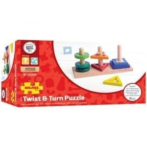 Twist and Turn Wooden Puzzle