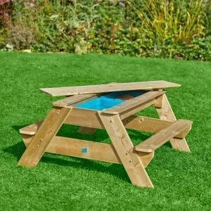 TP Deluxe Picnic Table – Sandpit & Waterplay