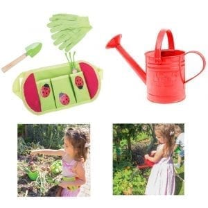 Gardening Belt with Tools and Watering Can