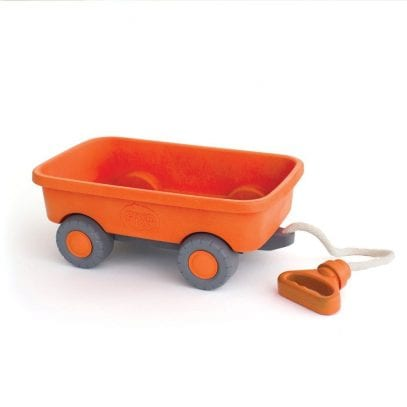 GreenToys-orange-Wagon-for-Toddlers