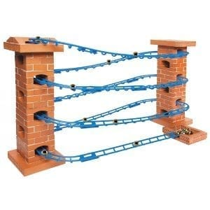 Teifoc Brick Construction Marble Run n Roll Track