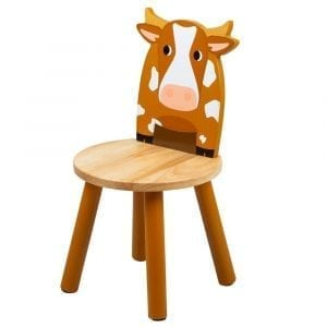 Wooden Cow Chair Tidlo