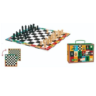 Djeco Game Chess and Draughts