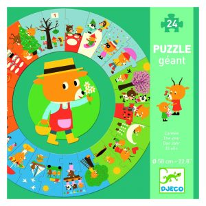 Djeco Giant Puzzle The Year