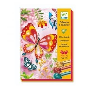 Djeco Butterflies Glitter Boards