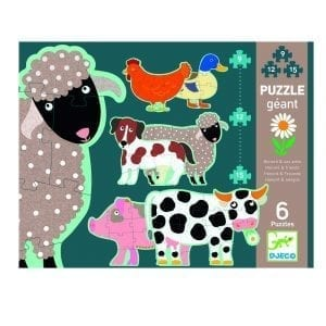 Djeco Giant Puzzle Honore & Friends