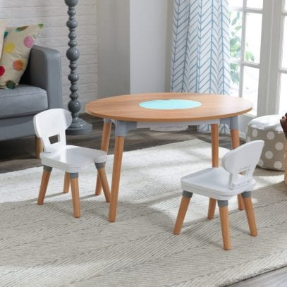 Kidkraft-Mid-Century-Table-and-Two-Chairs-Set-1