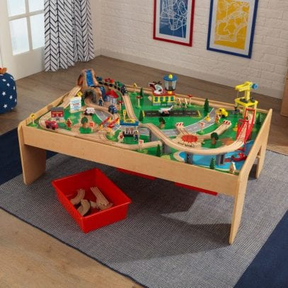 Kidkraft-Waterfall-Mountain-Trainset-and-Table-15