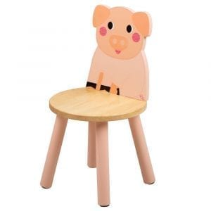 Wooden Pig Chair Tidlo