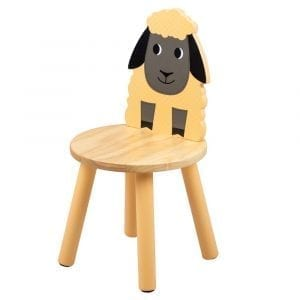 Wooden Sheep Chair Tidlo